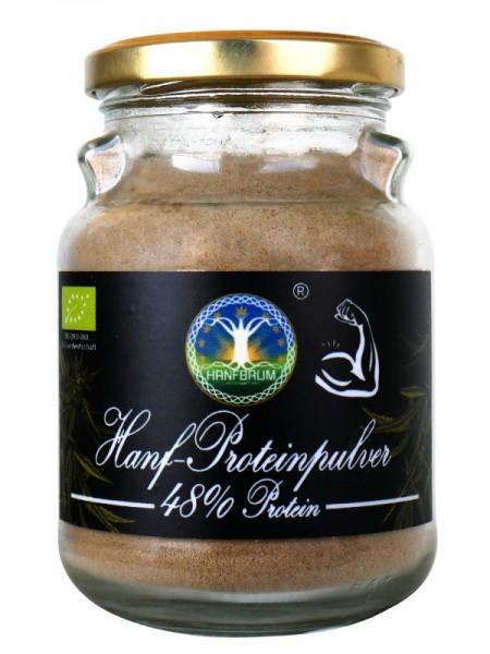 Hanfproteinpulver 48% Protein 160g